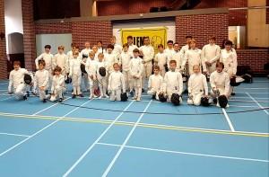 Groepsfoto deelnemers